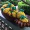 Lavender sachet pineapple shape crochet moth repellent drawer wardrobe