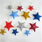 12 Stars Felted Christmas Decoration