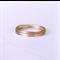 Rose gold stacking rings, set of rings, thin rings