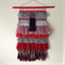 Hand woven wall hanging, tapestry, weaving - 'Rosanna' by Tat