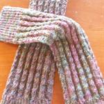 PDF knitting pattern Twist pattern legwarmers