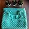 Knit cotton mint green tee shirt summer beach top