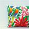 Rainbow Lorikeet (Australia Bird) Vintage Linen Tea Towel Cushion Cover