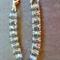 Ladder Bracelet with Swarovski Crystals