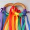2 Hand Kites - Rainbow