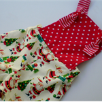 Retro Christmas Sunsuit