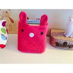 Amigurumi Crochet Bunny Basket