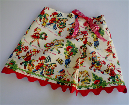 Christmas Wishes Skirt