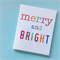 10 Christmas gift tags cards merry and bright
