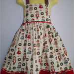 Christmas Cheer Girl's Sunfrock