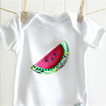 summer baby | watermelon onesie | girl | gift