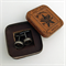 Vintage typewriter-key cufflinks in vintage Star Brand tin - 'asterisk' keys