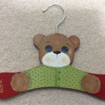 Baby Painted Bear Coathanger
