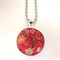 Resin Flower Necklace <free postage>