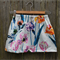 Girls Watercolour Floral Skirt. Bright and Bold Statement Piece Size 4-5 Years
