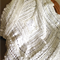 All White Textured Afghan (Lap rug/throw)
