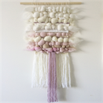 Hand woven wall hanging, tapestry, boho weaving - 'Aphrodite'