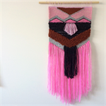 LARGE Hand woven wall hanging, tapestry, boho weaving - 'Claudia'