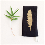 Relax Eye Pillow | Organic flax seed & lavender | Hand Printed.