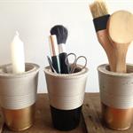 Concrete Cups Trio