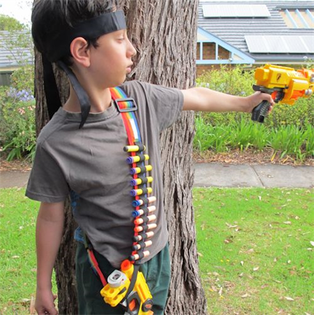 Dart Ammo Shoulder Belt, Nerf Gun Belt