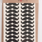 75 Vinyl Die Cut Moustache Stickers