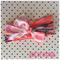 Neon swirl headband wrap bow wrap soft muslin  baby toddler kids adult