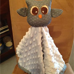Owl Snuggle and security blanket