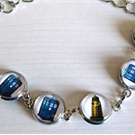 Tardis and Dalek Bracelet