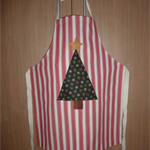 Christmas applique apron