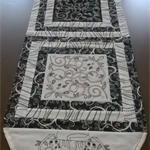 REVERSE-ABLE TABLE RUNNER & CUSHION COVER