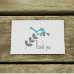 Little Bird Thank You Cards - suitable for any occasions (10cards/pk)
