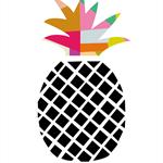Pineapple Art Original Print