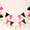 Cake Bunting/Cake Topper/Cake Banner/Flags. Suit Minnie Mouse Theme.