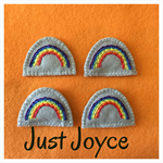 Rainbow in my Pocket.  Joycie's Lavender Pocket Love Range.