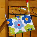 Retro BIG flowers| Cotton kids' bag