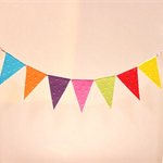 Cake Bunting/Cake Topper/Cake Banner/Flags. The Big Top. Circus Themed. Birthday