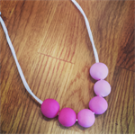 Custom Polymer Clay Handmade Necklace