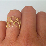 Teardrop Ring - not perfect