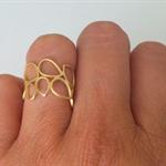 Teardrop Ring - not perfect