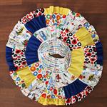 Patchwork Twirl Skirt - Size 5