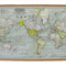 Around the World - Map Pinboard