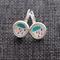 Coloured Cloud Raindrops~ Lever Back Earrings