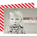 Printable Custom Christmas Photo Card - Merry Christmas 2013