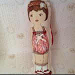 Vintage Paper Doll   #1