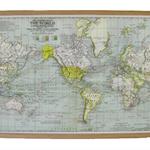 Around the World - Map Pinboard