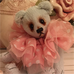 """Lucas -  Traditional 6"""" Teddy Bear by Lisa Dopking"""