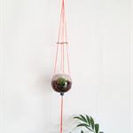 Neon Pot Plant Hanger - Single 6 Bead Design