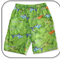 SIZE 2 Boys Shark Drill Shorts