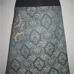 Jade Skirt with Fleur de lis and Bamboo Stretch Waist